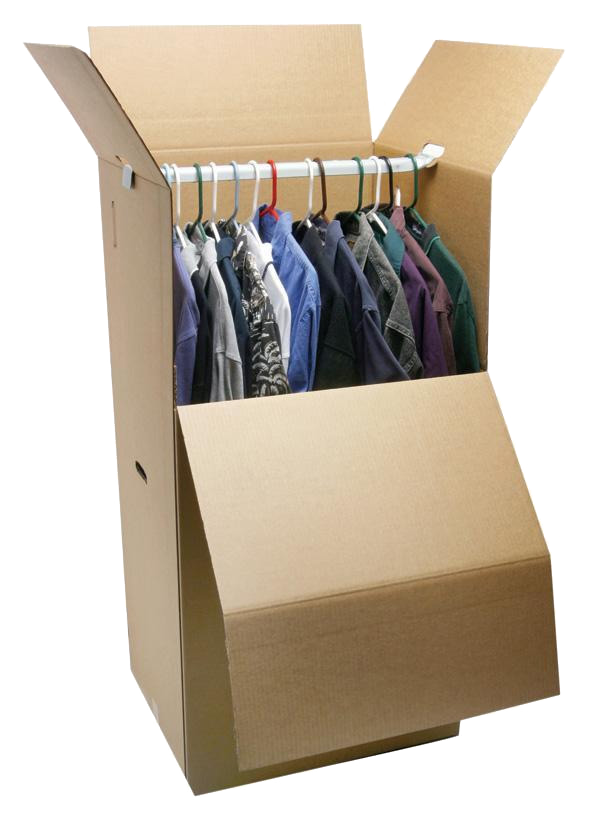 wardrobe box storage and clothing storage